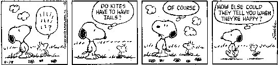 snoopy on kites